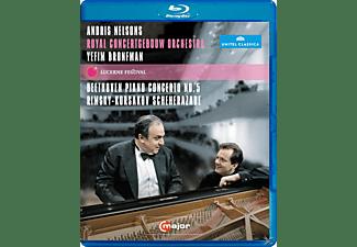 Yefim Bronfman, Nelsons/Bronfman/Royal Concertgebouw Orch. - At Lucerne Festival  - (Blu-ray)