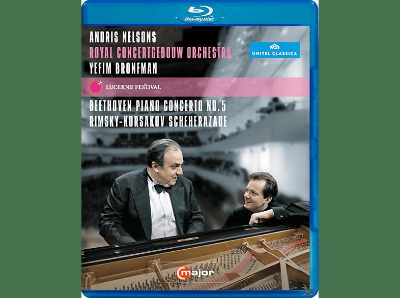 Yefim Bronfman, Nelsons/Bronfman/Royal Concertgebouw Orch. - At Lucerne Festival [Blu-ray]