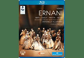 Orchestra/Coro Teatro Regio Pa, Allemandi/Berti/Guelfi - Ernani  - (Blu-ray)