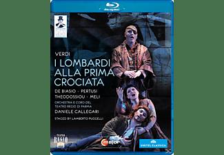 Orchestra/Coro Teatro Regio Pa, Callegari/De Biasio/Pertusi - I Lombardi  - (Blu-ray)