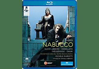 Nucci/Ribeiro/Surian, Mariotti/Nucci/Ribeiro/Zanellato - Nabucco  - (Blu-ray)