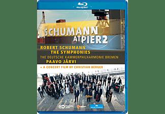 Paavo & Deutsche Kammerphilharmonie Järvi - Symphonien/Schumann At Pier 2  - (Blu-ray)