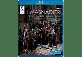 Orchestra/Coro Teatro Regio Pa, Luisotti/Prestia/Machado/Rucinski - I Masnadieri  - (Blu-ray)