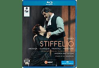 Orchestra/Coro Teatro Regio Pa, Battistoni/Aronica/Guanqun - Stiffelio  - (Blu-ray)