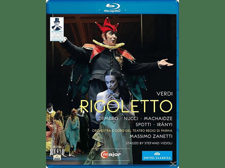 Orchestra/Coro Teatro Regio Pa, Zanetti/Demuro/Nucci - Rigoletto [Blu-ray]