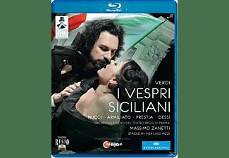 Orchestra/Coro Teatro Regio Pa, Zanetti/Nucci/Russo/Mastroni - I Vespri Siciliani  - (Blu-ray)