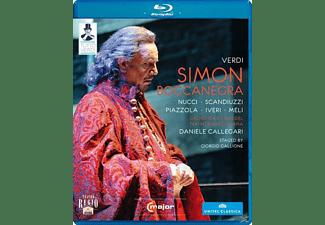 Orchestra/Coro Teatro Regio Pa, Callegari/Nucci/Scandiuzzi - Simon Boccanegra  - (Blu-ray)