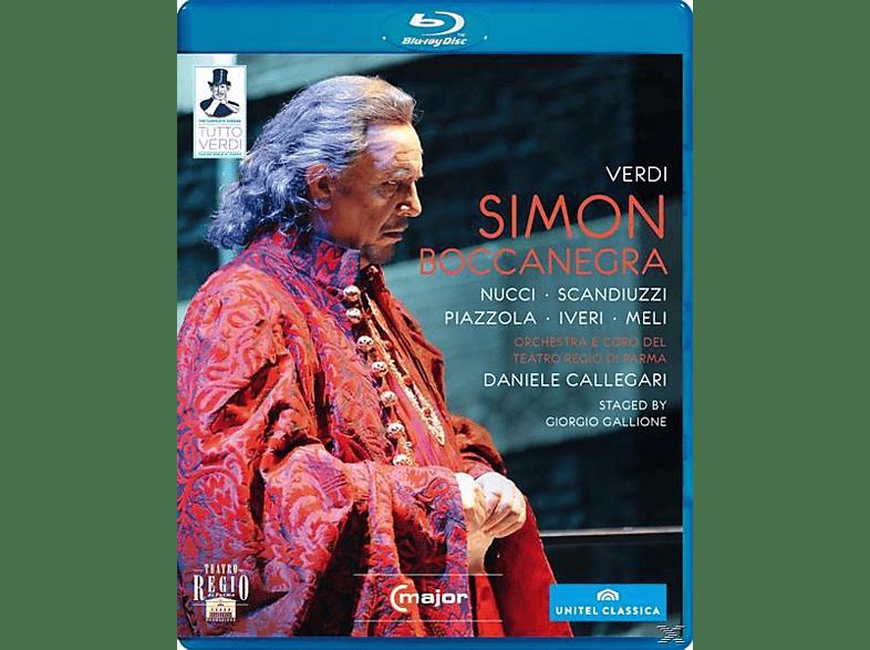 Orchestra/Coro Teatro Regio Pa, Callegari/Nucci/Scandiuzzi - Simon Boccanegra [Blu-ray]