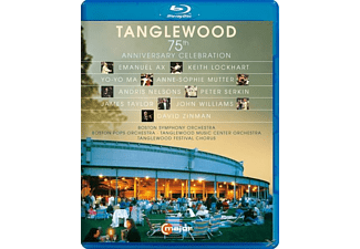 Yo-Yo Ma/A.S.Mutter, VARIOUS - Tanglewood-75th Anniversary Celebration - (Blu-ray)