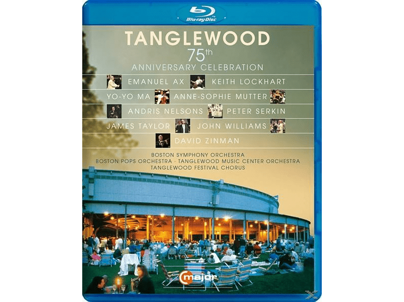 Yo-Yo Ma/A.S.Mutter, VARIOUS - Tanglewood-75th Anniversary Celebration [Blu-ray]