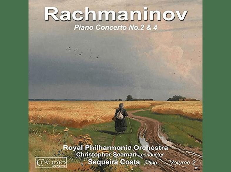Royal Philharmonic Orchestra, Costa Sequeira - Klavierkonzert 2-4 [CD]
