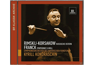Kyrill & Br So Kondrashin - Russische Ostern/Symphonie d-moll  - (CD)