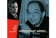 Paul Kuhn - Remember When (Paul Kuhn Meets Bert Kaempfert) [CD]