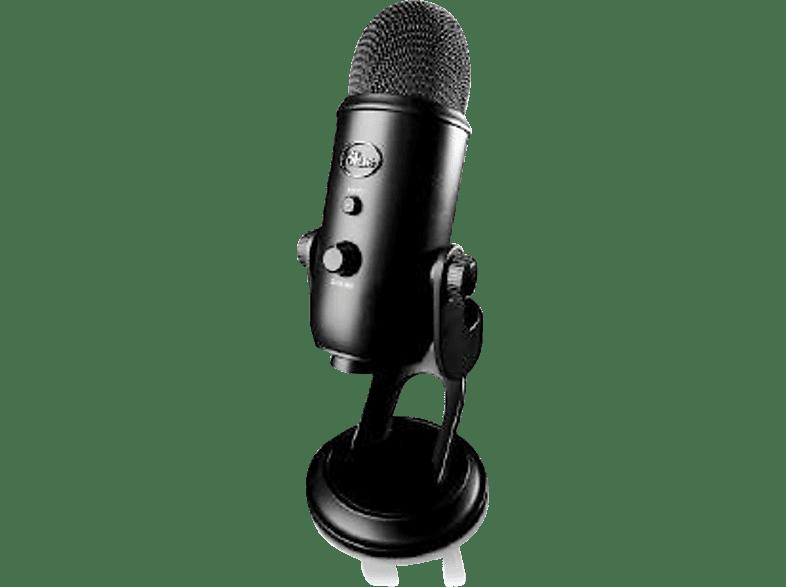 BLUE MICROPHONES Yeti Blackout  USB Mikrofon, Schwarz