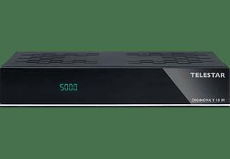 TELESTAR Diginova T 10 IR DVB-T2 HD Receiver (HDTV, DVB-T2 HD, DVB-C, Schwarz)