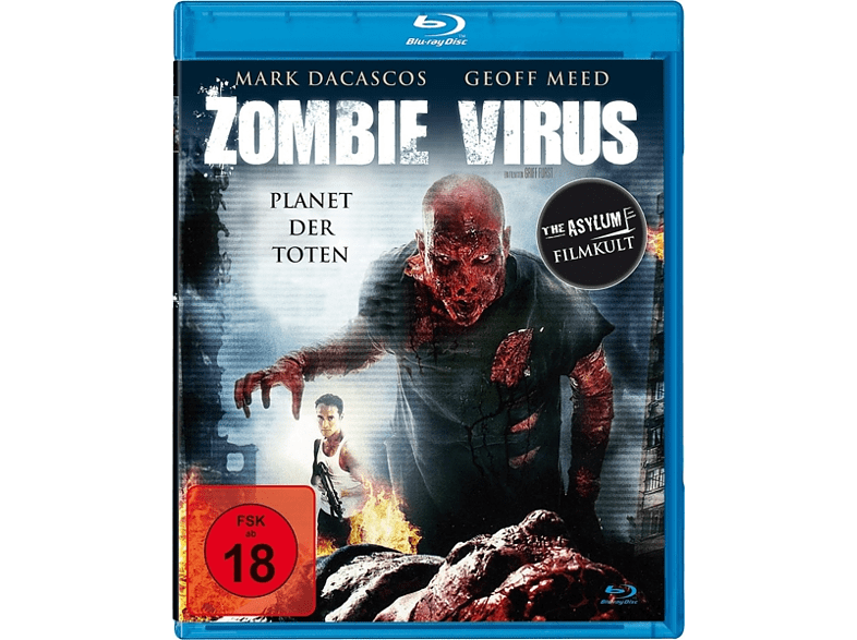 Zombie Virus-Planet der Toten [Blu-ray]