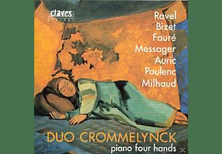 Duo Crommelynck - FRANZÖSISCHE MEISTERWERKE  - (CD)