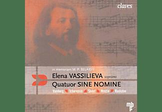 Elena Vassilieva - in Memoriam M.P.Belaieff  - (CD)
