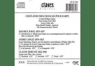 Ursula Holliger - Französische Meisterw.f.Harfe  - (CD)