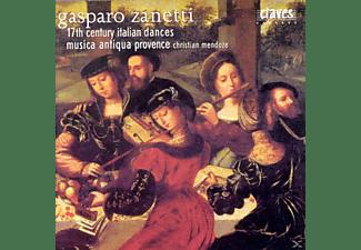 C Mendoze Ensemble Musica Antiqua Provence - Italienische Tänze des 17.Jahrhunderts  - (CD)