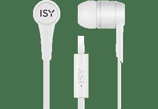 ISY IIE-1101-WT, In-ear Kopfhörer Weiß