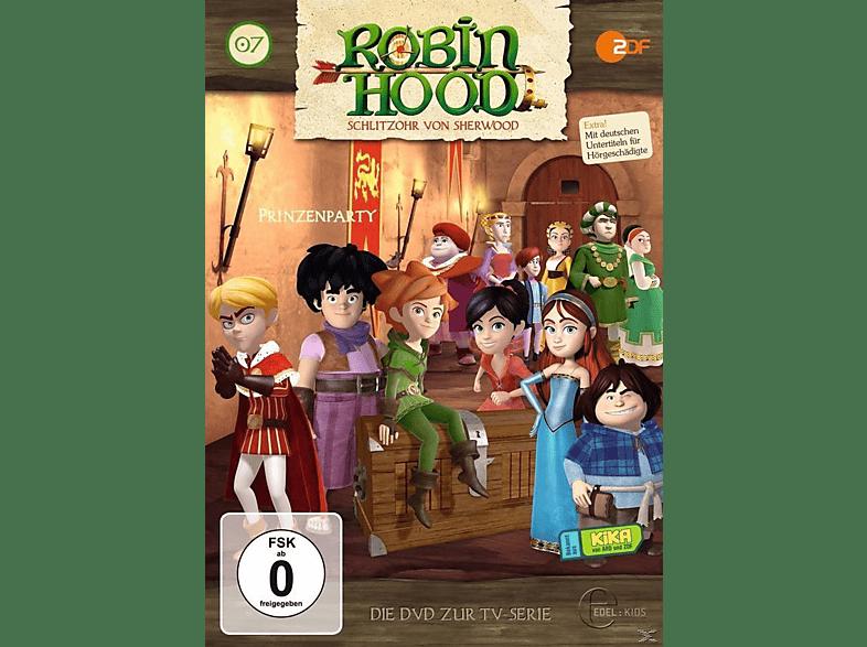 007 - Robin Hood - Schlitzohr von Sherwood -  Prinzenparty [DVD]