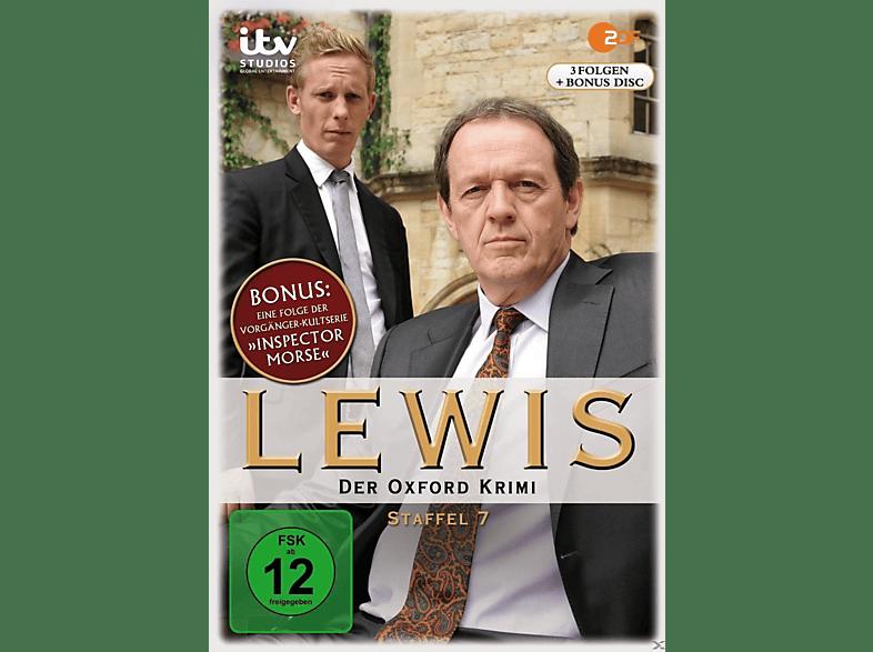 Lewis – Der Oxford Krimi - Staffel 7 [DVD]