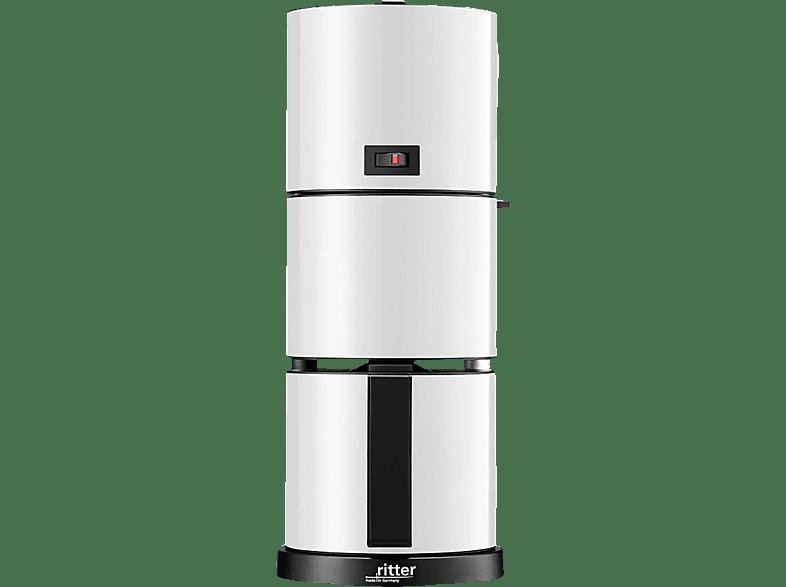 RITTER 640001 Cafena 5 Kaffeemaschine Weiß