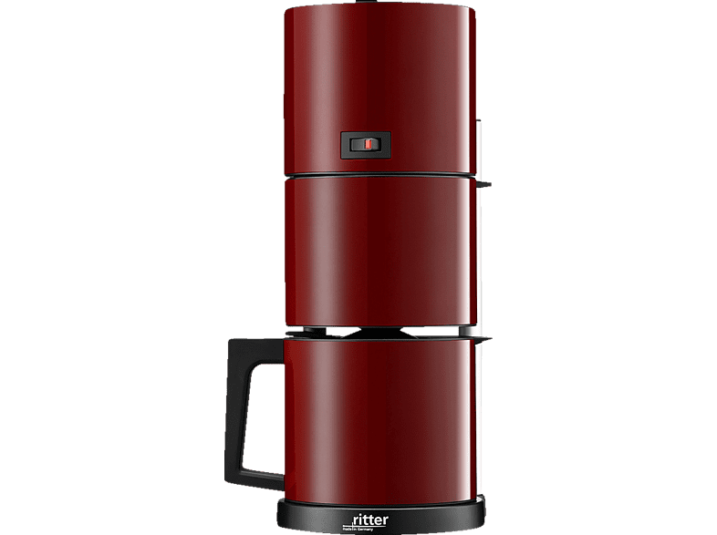 RITTER 640002 Cafena 5 Kaffeemaschine Rot