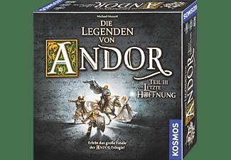 KOSMOS Legenden von Andor III - Die letzte Hoffnung Brettspiel Mehrfarbig