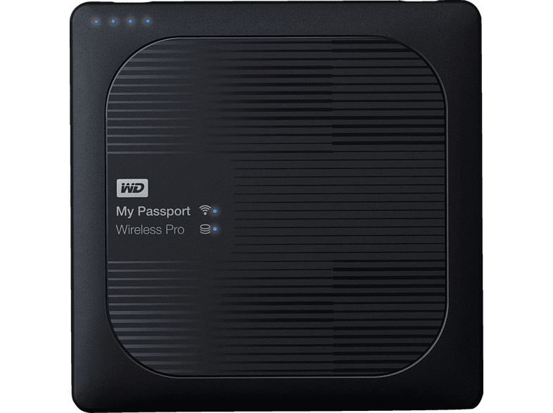 WD My Passport™ Wireless Pro, 3 TB HDD, 2.5 Zoll, extern
