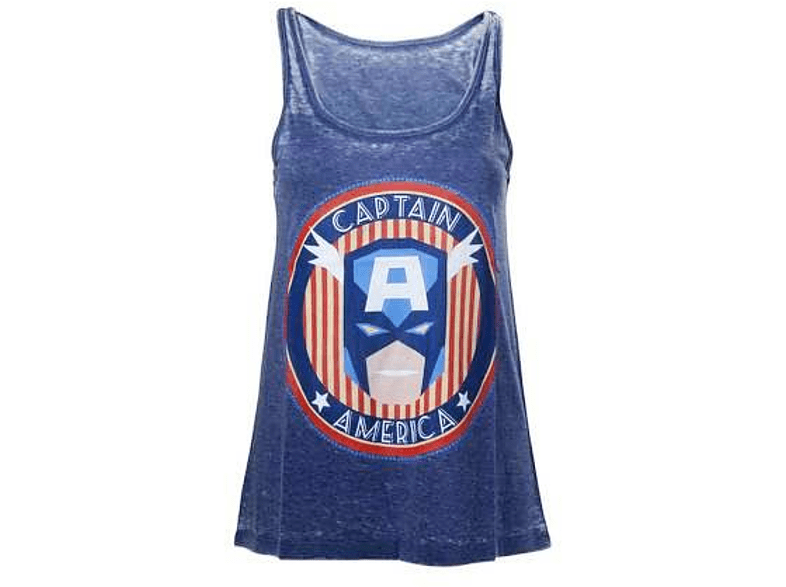 Marvel Tanktop (Damen) -S- Captain America