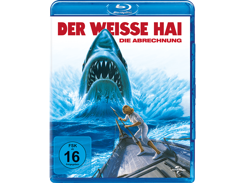 Der weiße Hai - Die Abrechnung [Blu-ray]