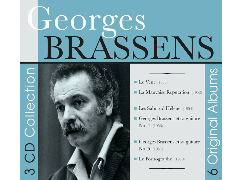 Georges Brassens - Original Albums [CD]