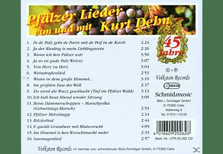 Kurt Dehn - Pfälzer Lieder Von U.Mit Kurt  - (CD)