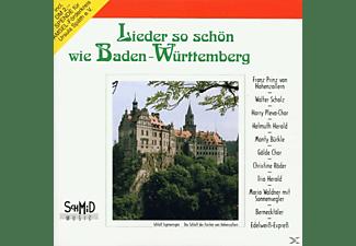 VARIOUS - Lieder So Schön Wie Baden-Württemberg  - (CD)