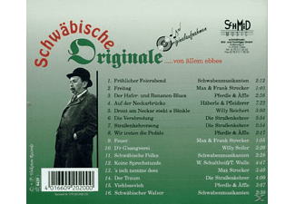 VARIOUS - Schwäbische Originale  - (CD)