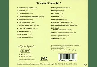 VARIOUS - Tübinger Gogenwitze 3  - (CD)