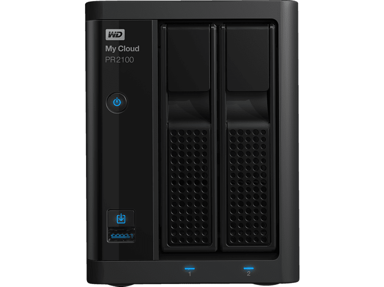WD My Cloud™ PR2100 EMEA  0 TB 3.5 Zoll extern