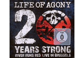 Life Of Agony - 20 Years Strong:River Runs Red Live In Brussels - (CD + DVD Video)