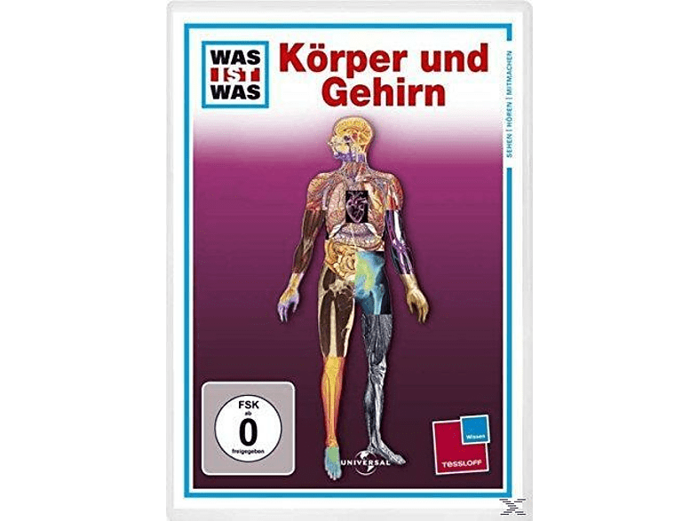 Was ist Was TV DVD: Körper und Gehirn [DVD]
