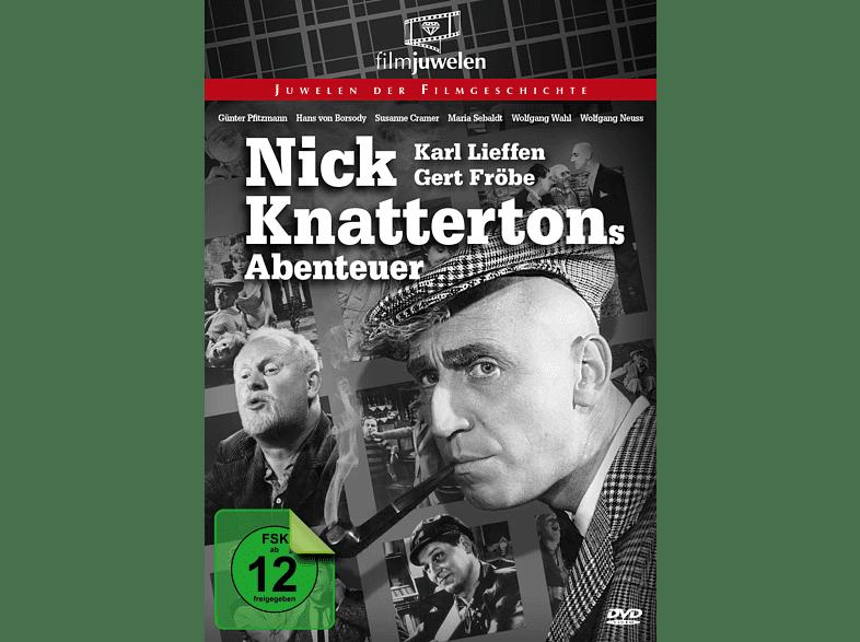 Nick Knattertons Abenteuer - Der Raub der Gloria Nylon [DVD]