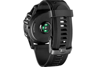 Reloj deportivo - Garmin Fenix 3 HR, Plata, GPS, Altímetro barométrico, Pulsómetro, Connect IQ