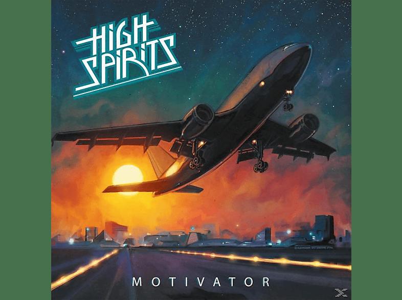 High Spirits - Motivator (Ltd.Orange Crush Vinyl) [Vinyl]