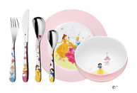 WMF 12.8240.9964 Disney Princess 6-tlg. Kinderbesteck-Set