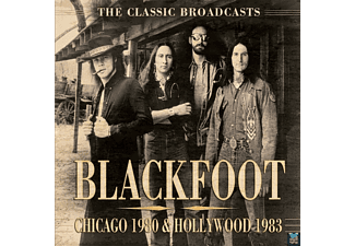 Blackfoot - Chicago 1980 & Hollywood 1983 - (CD)