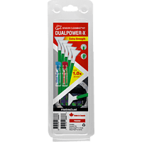 VISIBLE DUST DUALPOWER-X 1.0x Extra Strength MXD100 Green Swab Reinigungsset, Mehrfarbig