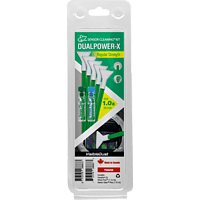 VISIBLE DUST DUALPOWER-X 1.0x Regular Strength MDX100 Green Reinigungsset, Mehrfarbig