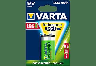 VARTA Ready2Use Accu 9V-Block 200 mAh