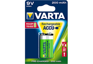VARTA Ready2Use Accu 9V-Block 200 mAh